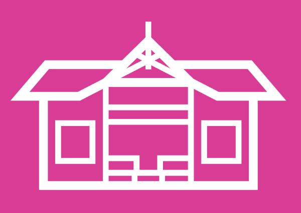 For å vise studenparlamentets logo